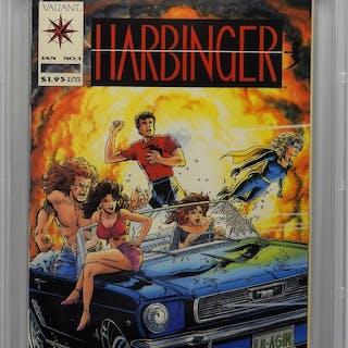Valiant Comics Harbinger #1 CBCS 9.8