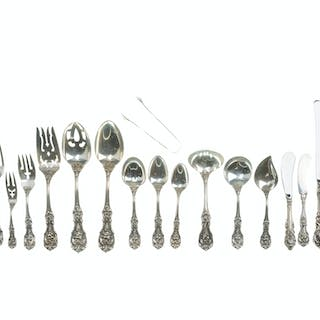 "A Reed & Barton ""Francis I"" sterling silver flatware service"