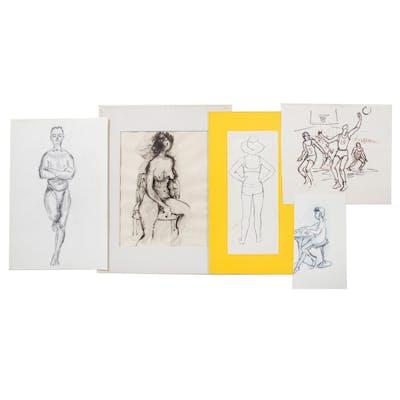 Ina Helrich. Five Figure Studies