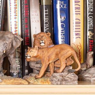 Six Lenox Porcelain Animal Figures