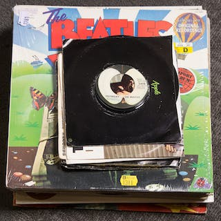 Assorted Beatles Records