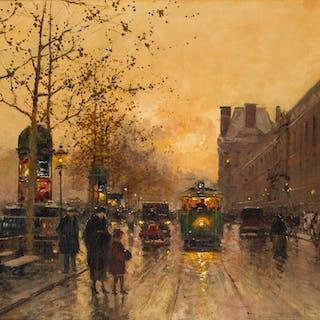 Edouard Léon Cortès (1882-1969 French)