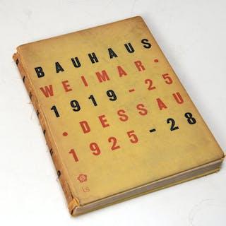 BOOKS: Bauhaus 1919-1928, Gropius, MOMA 1938