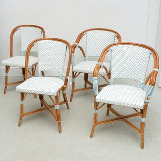 Set (4) Maison Drucker style cafe chairs