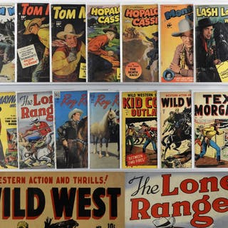 14PC Golden Age Western Comics Group