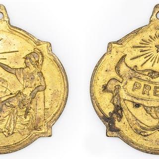 S.f. Medalla de premio.