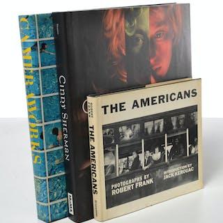 BOOKS: (3) Hockney, R. Frank, signed Cindy Sherman