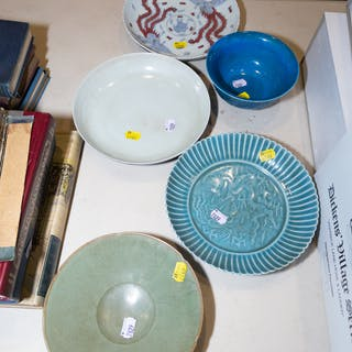 Five Pieces of Chinese Porcelain