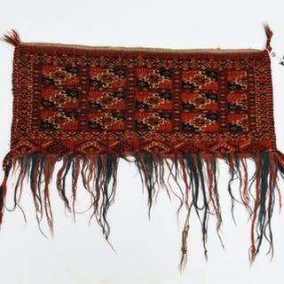 Tekke Turkmen tent bag or Torba