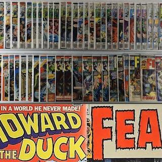 56PC Marvel Comics Howard the Duck Fear Group