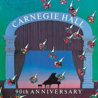 Carnegie Hall. 1981.