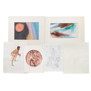 Ina Helrich. Six Assorted Art Works