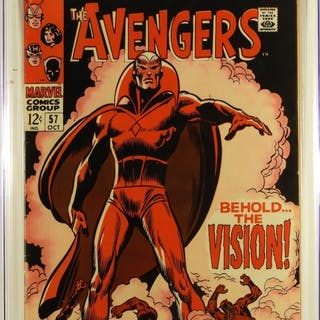 Marvel Comics Avengers #57 CGC 6.5