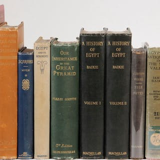 (9) TITLES IN (10 VOLS) BOOKS ON EGYPT