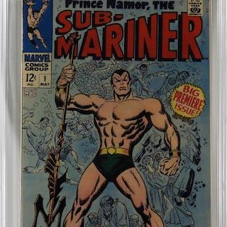 Marvel Comics Sub-Mariner #1 CBCS 8.0