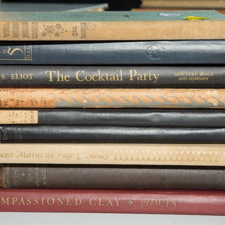 Several Rare Books, Mostly 1st Editions