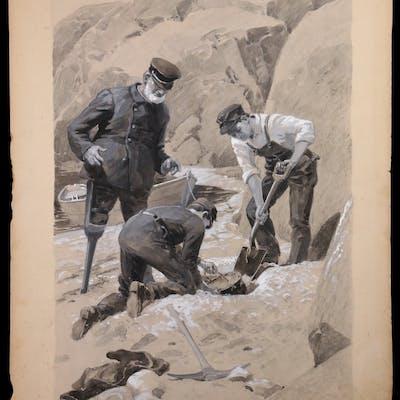 CHARLES GEORGE COPELAND (MA/ME, 1858-1945)