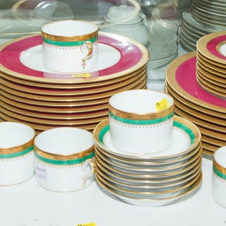 Assorted Ginori and Royal Crown Derby China