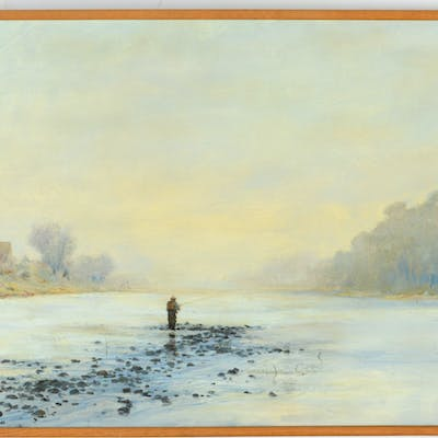 Bruce North, large painting