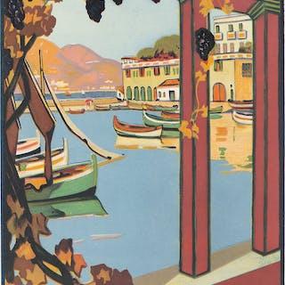 PLM / L'Été sur la Cote d'Azur. 1926.