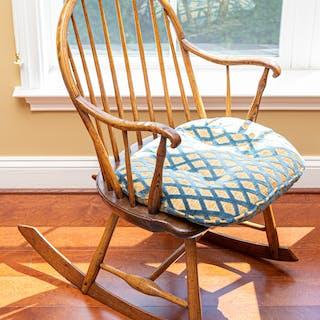 Windsor Oak Rocking Chair