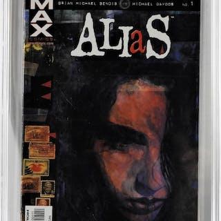 Marvel Comics Alias #1 CBCS 9.6