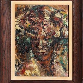 John Uht, Portrait of a Woman, Oil Painting - John Uht