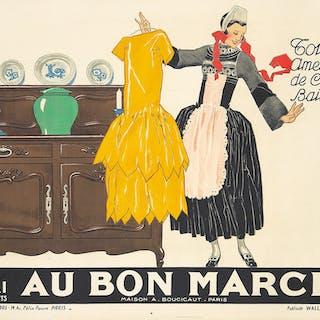 Au Bon Marché. 1930.