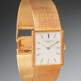 Audemars Piguet ladies 18k gold watch