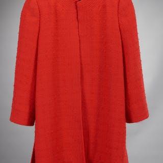 Bob Bugnand New York red wool coat
