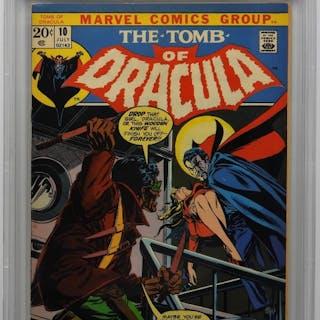 Marvel Comics Tomb of Dracula #10 CBCS 7.0
