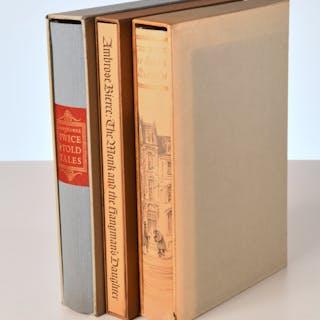 BOOKS: (3) Vols LEC, American literature
