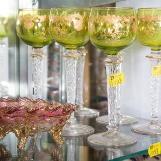 Assorted Continental Glassware