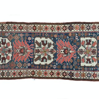 Old Caucasian Kabistan wool runner