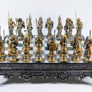 2d423c3282 Chess set – Auction – All auctions on Barnebys.com
