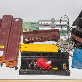 Assorted Train Cars & Accessories