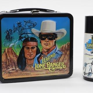 Aladdin Legend Of Lone Ranger Lunch Box & Thermos