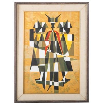 Lefty Egan. Cubist Warriors