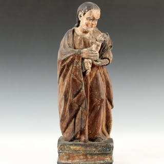 CONTINENTAL LATE MEDIEVAL ECCLESIASTICAL SCULPTURE