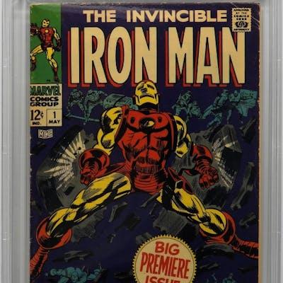 Marvel Comics Iron Man #1 CBCS 5.0