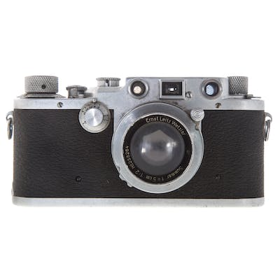 Leica III C Camera With Summar Lens