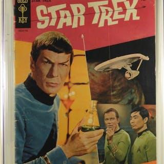 Gold Key Comics Star Trek #1 CGC 3.5
