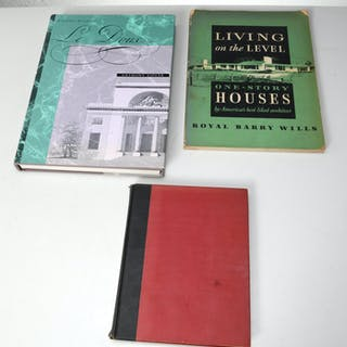 BOOKS: (3) Vols Architecture & Design