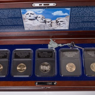 Mt. Rushmore 75th Anniversary Comm Coin Collection