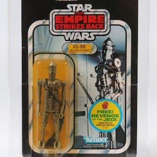 1982 Kenner Star Wars ESB 48 Back C IG-88 CAS 85