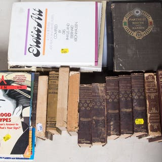 Assorted Books and Japanese Magazines