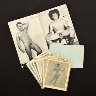 6 Bruce Bellas Nude Male Photos, Negatives, Catalog & Ephemera - Bruce