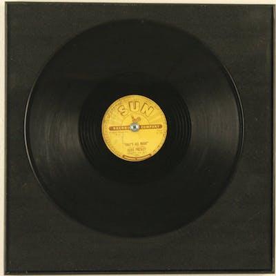 ELVIS PRESLEY 78 SINGLE SUN RECORDS 209, 1954