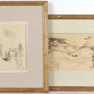 Carl Sprinchorn, (2) drawings