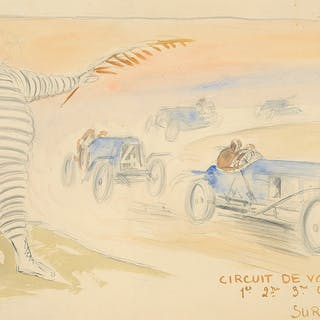 Michelin : Maquette. 1911.